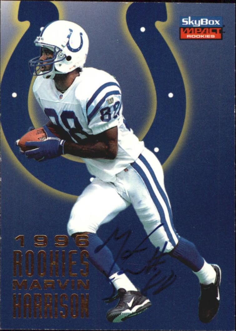 1996 SkyBox Impact Rookies 1996 Rookies Autographs #A4 Eddie Kennison