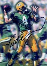 1996 SkyBox Premium Autographs #A2 Brett Favre