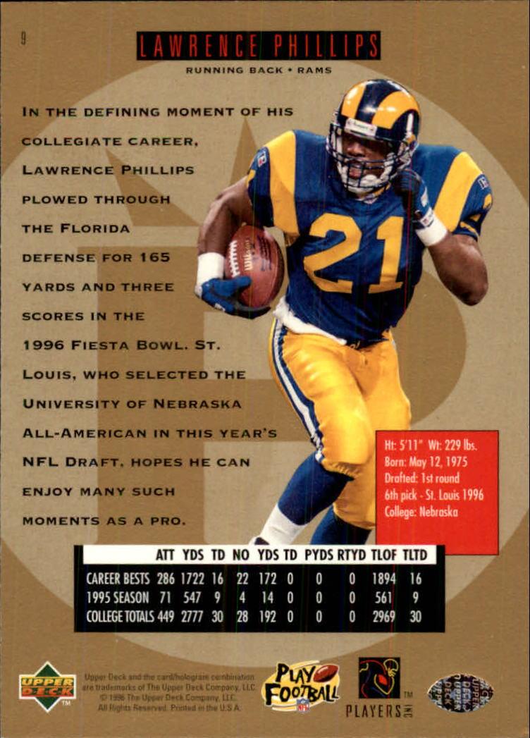 1996-SP-Football-Singles-1-188-Your-Choice-GOTBASEBALLCARDS thumbnail 15