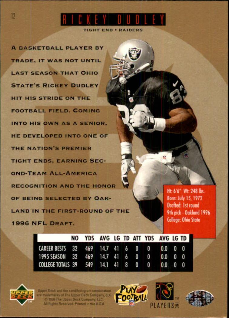 1996-SP-Football-Singles-1-188-Your-Choice-GOTBASEBALLCARDS thumbnail 19