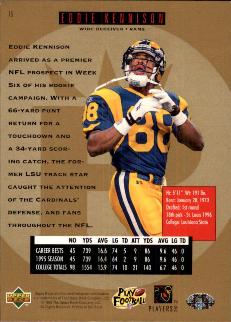 1996-SP-Football-Singles-1-188-Your-Choice-GOTBASEBALLCARDS thumbnail 21
