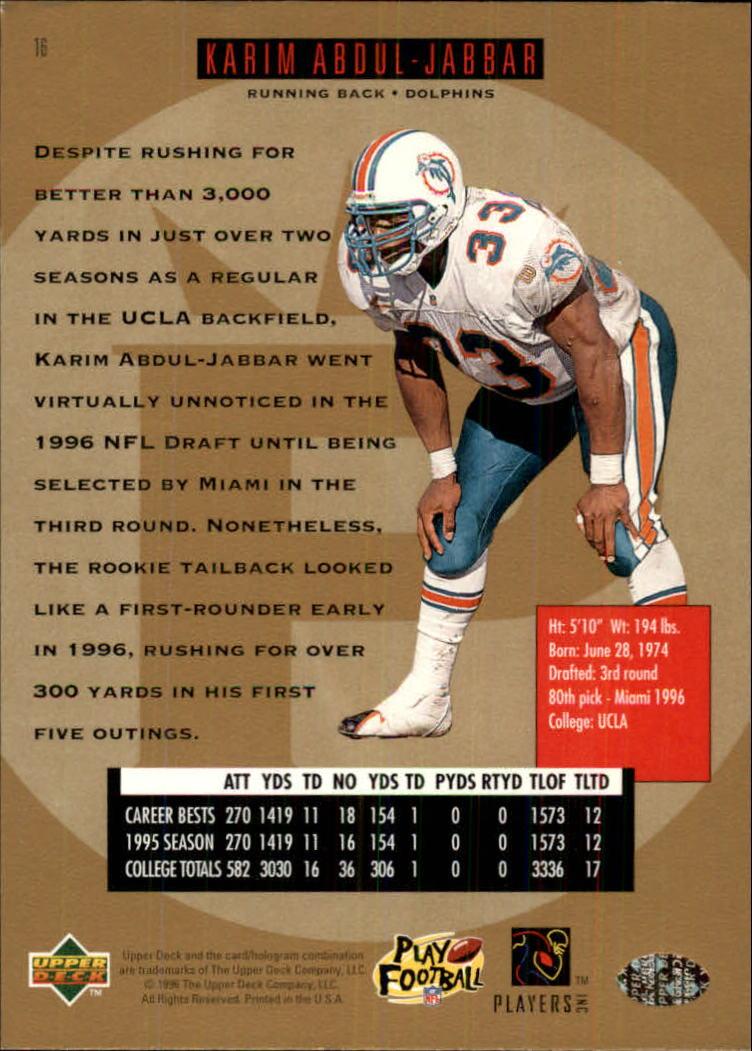 1996-SP-Football-Singles-1-188-Your-Choice-GOTBASEBALLCARDS thumbnail 23