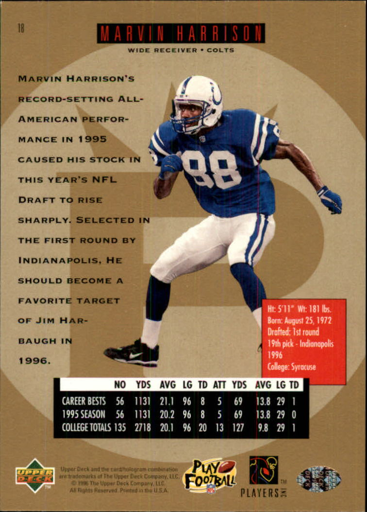 1996-SP-Football-Singles-1-188-Your-Choice-GOTBASEBALLCARDS thumbnail 27