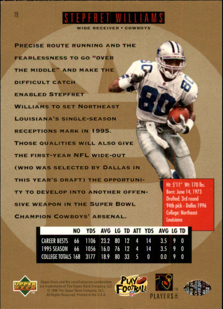 1996-SP-Football-Singles-1-188-Your-Choice-GOTBASEBALLCARDS thumbnail 29