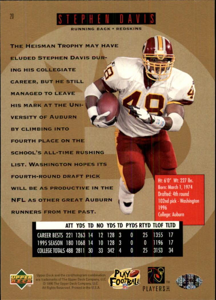 1996-SP-Football-Singles-1-188-Your-Choice-GOTBASEBALLCARDS thumbnail 31