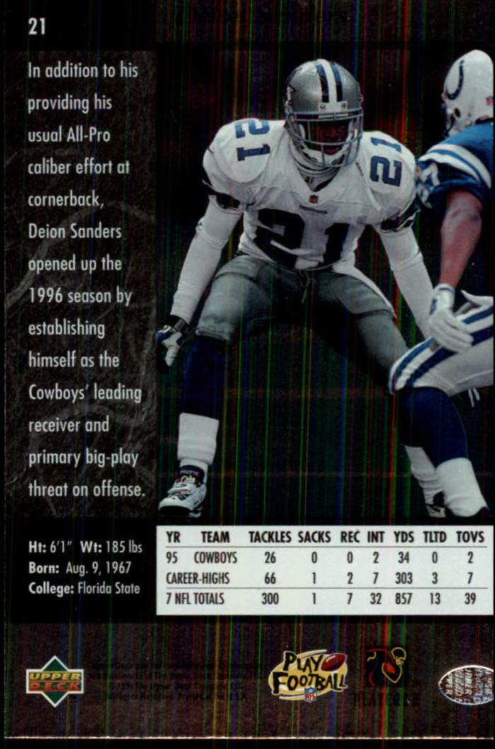 1996-SP-Football-Singles-1-188-Your-Choice-GOTBASEBALLCARDS thumbnail 33