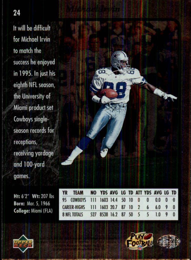 1996-SP-Football-Singles-1-188-Your-Choice-GOTBASEBALLCARDS thumbnail 39