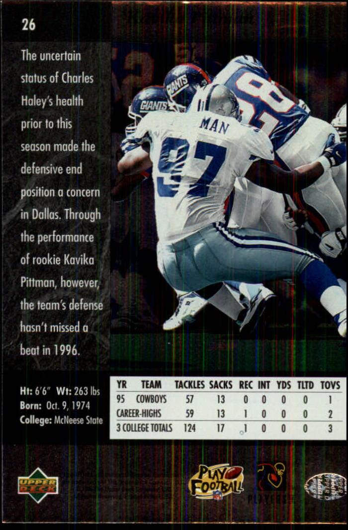 1996-SP-Football-Singles-1-188-Your-Choice-GOTBASEBALLCARDS thumbnail 43