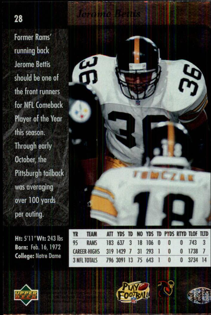 1996-SP-Football-Singles-1-188-Your-Choice-GOTBASEBALLCARDS thumbnail 47
