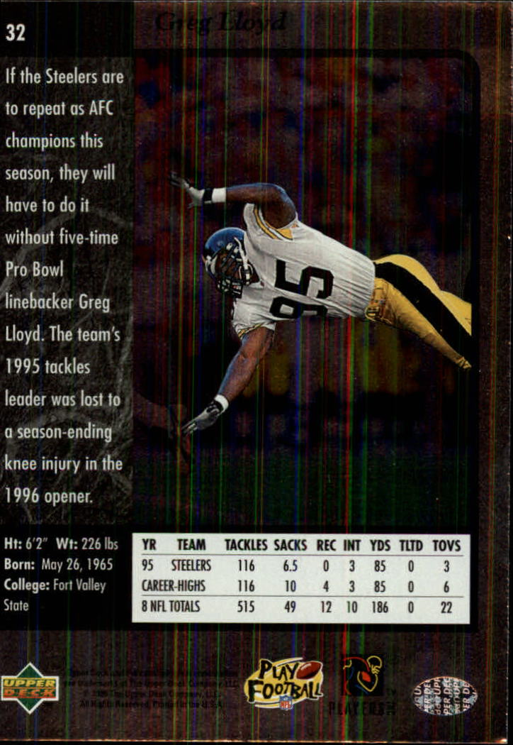 1996-SP-Football-Singles-1-188-Your-Choice-GOTBASEBALLCARDS thumbnail 51