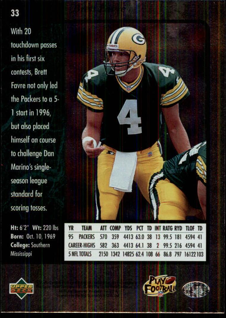 1996-SP-Football-Singles-1-188-Your-Choice-GOTBASEBALLCARDS thumbnail 53