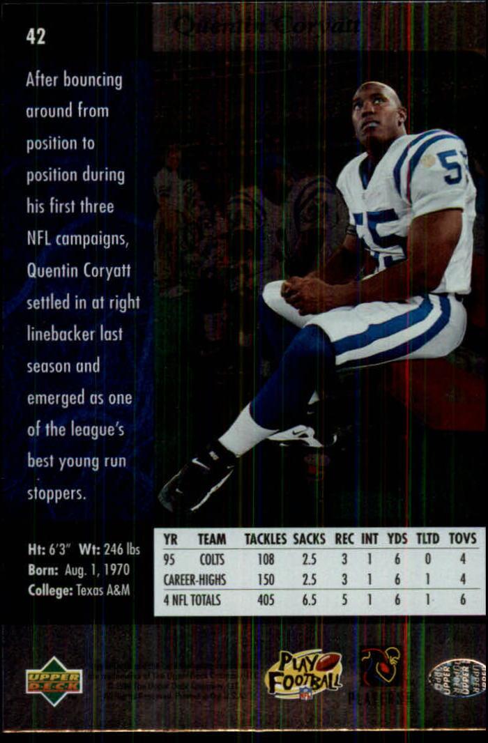 1996-SP-Football-Singles-1-188-Your-Choice-GOTBASEBALLCARDS thumbnail 71