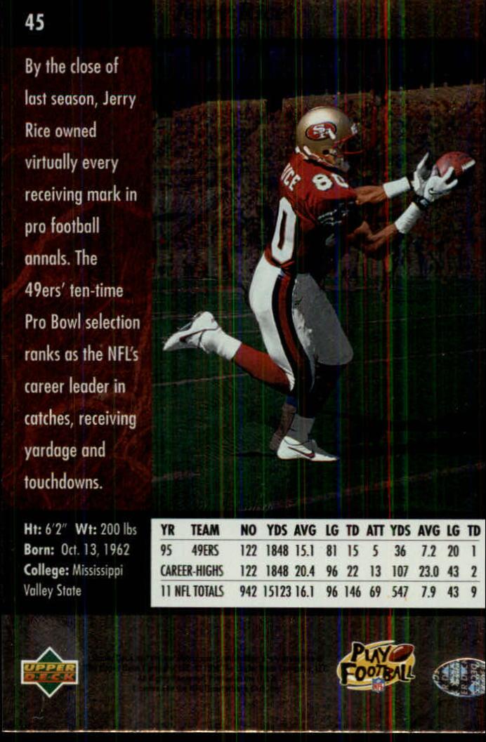 1996-SP-Football-Singles-1-188-Your-Choice-GOTBASEBALLCARDS thumbnail 77