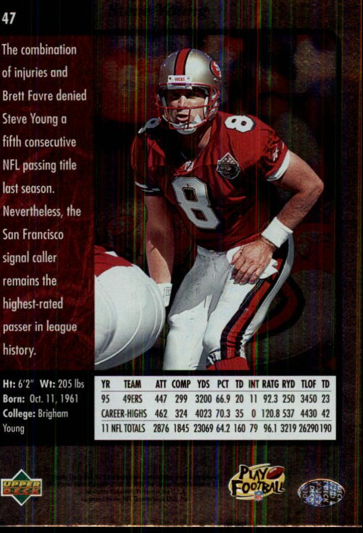1996-SP-Football-Singles-1-188-Your-Choice-GOTBASEBALLCARDS thumbnail 81