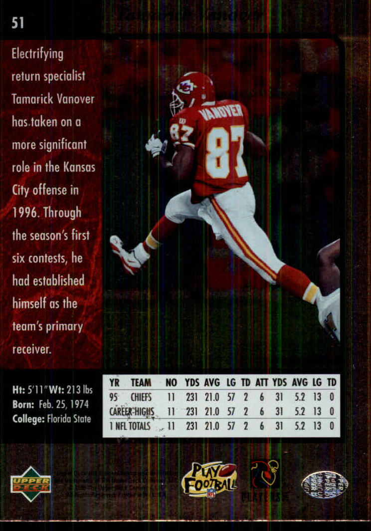 1996-SP-Football-Singles-1-188-Your-Choice-GOTBASEBALLCARDS thumbnail 89