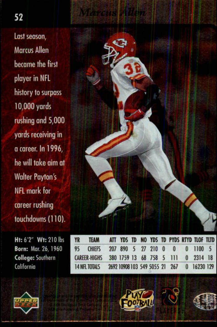 1996-SP-Football-Singles-1-188-Your-Choice-GOTBASEBALLCARDS thumbnail 91
