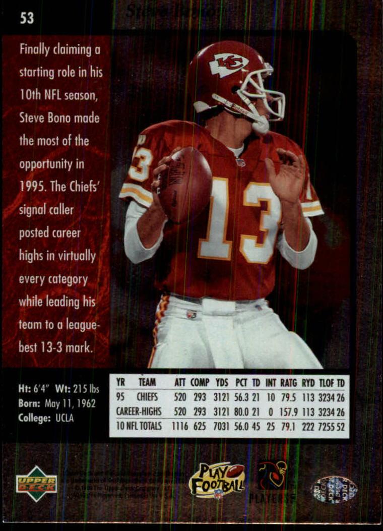 1996-SP-Football-Singles-1-188-Your-Choice-GOTBASEBALLCARDS thumbnail 93