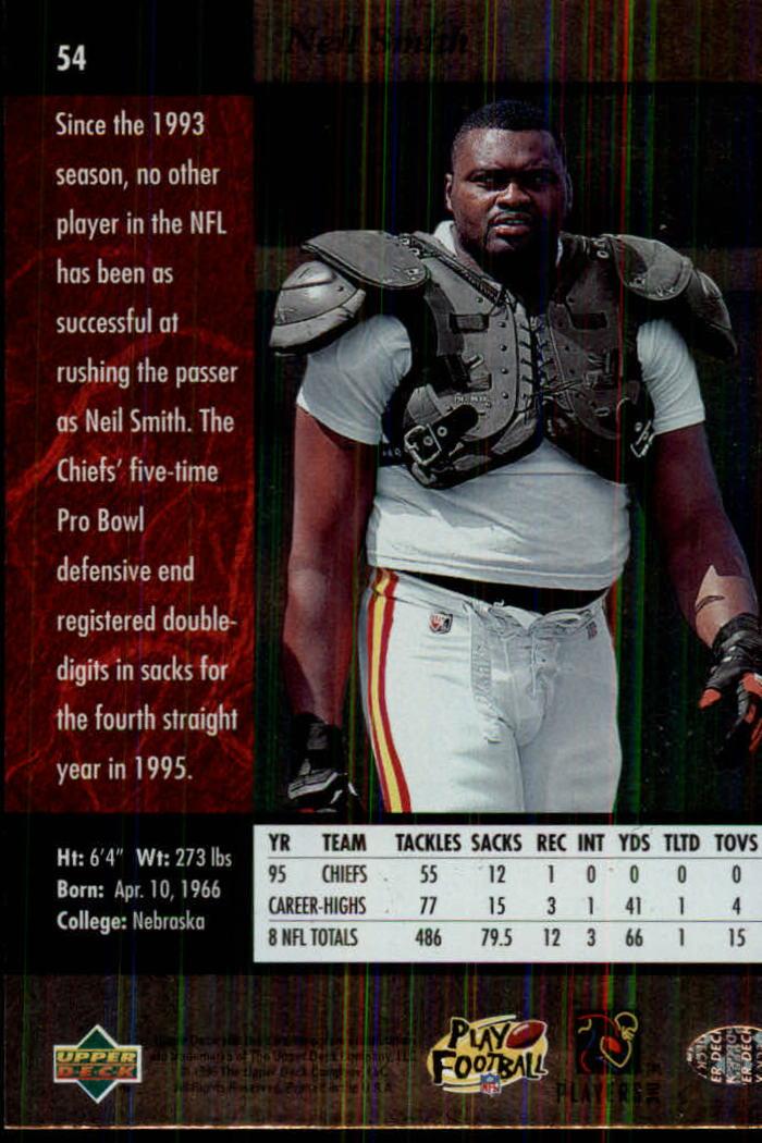 1996-SP-Football-Singles-1-188-Your-Choice-GOTBASEBALLCARDS thumbnail 95