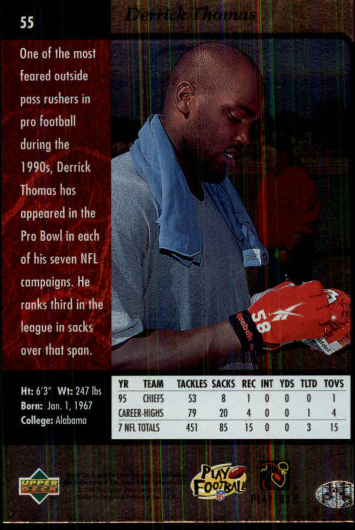 1996-SP-Football-Singles-1-188-Your-Choice-GOTBASEBALLCARDS thumbnail 97