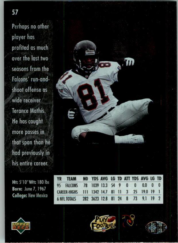 1996-SP-Football-Singles-1-188-Your-Choice-GOTBASEBALLCARDS thumbnail 101