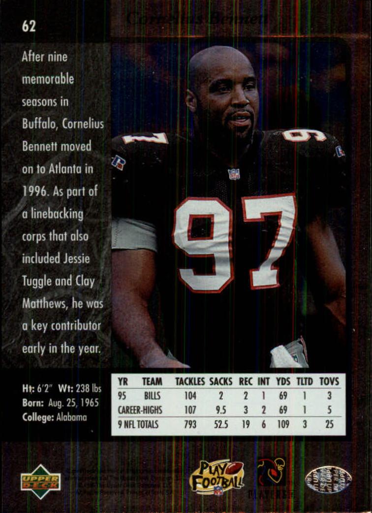 1996-SP-Football-Singles-1-188-Your-Choice-GOTBASEBALLCARDS thumbnail 109