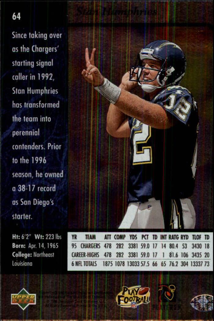 1996-SP-Football-Singles-1-188-Your-Choice-GOTBASEBALLCARDS thumbnail 113
