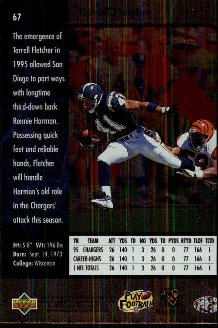 1996-SP-Football-Singles-1-188-Your-Choice-GOTBASEBALLCARDS thumbnail 119