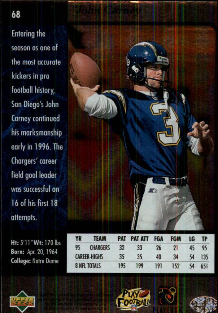 1996-SP-Football-Singles-1-188-Your-Choice-GOTBASEBALLCARDS thumbnail 121