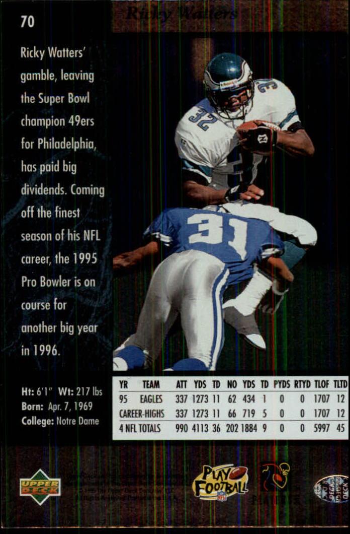 1996-SP-Football-Singles-1-188-Your-Choice-GOTBASEBALLCARDS thumbnail 125