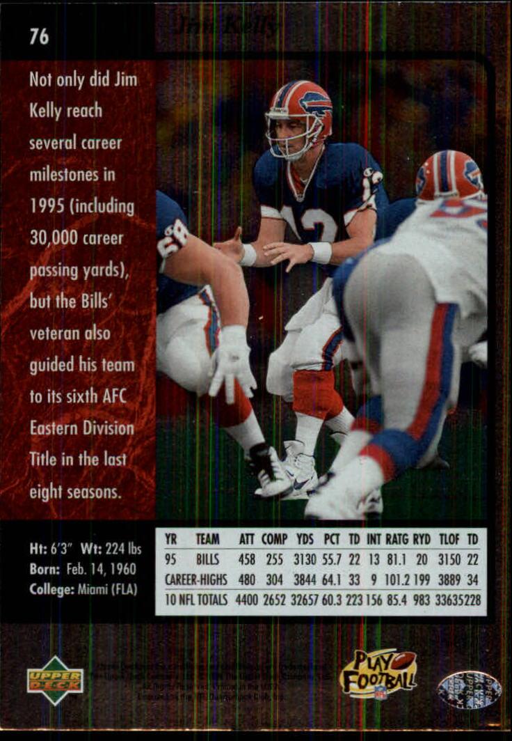 1996-SP-Football-Singles-1-188-Your-Choice-GOTBASEBALLCARDS thumbnail 137