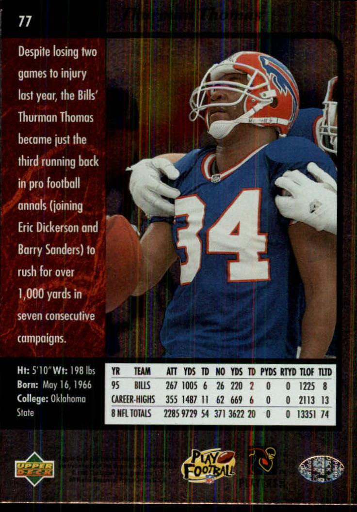 1996-SP-Football-Singles-1-188-Your-Choice-GOTBASEBALLCARDS thumbnail 139