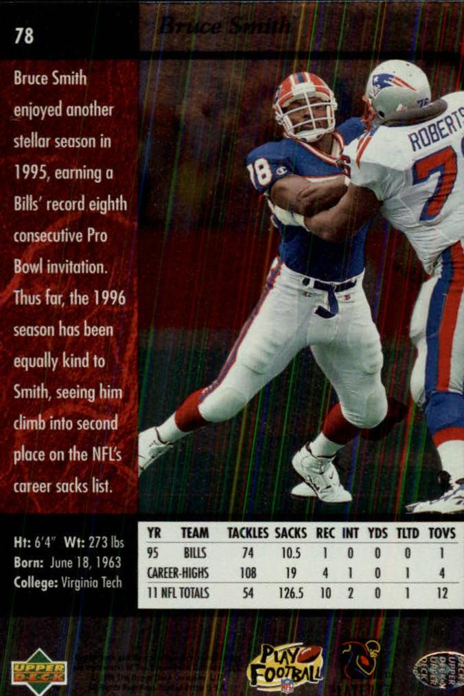 1996-SP-Football-Singles-1-188-Your-Choice-GOTBASEBALLCARDS thumbnail 141