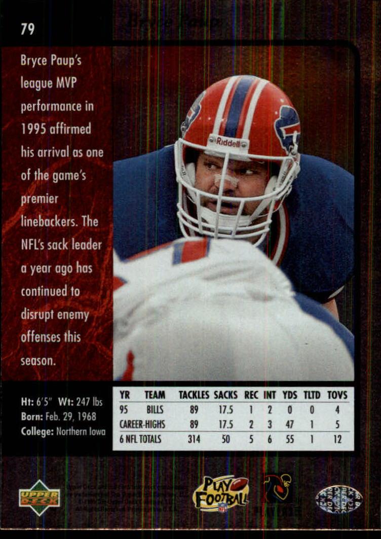 1996-SP-Football-Singles-1-188-Your-Choice-GOTBASEBALLCARDS thumbnail 143