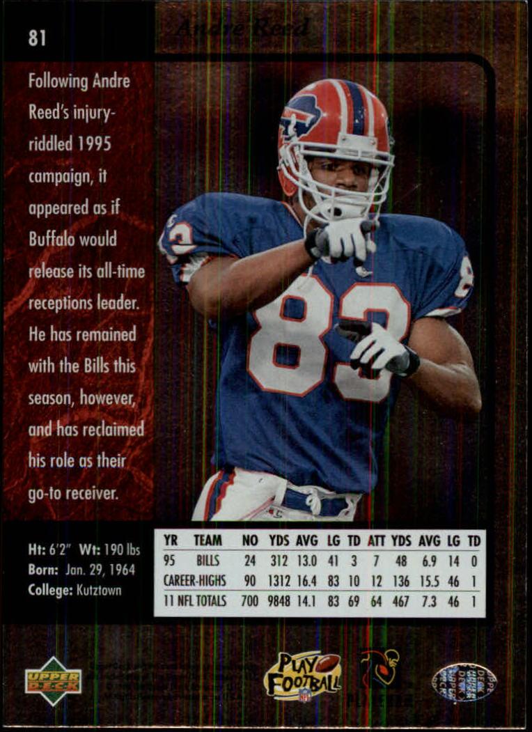 1996-SP-Football-Singles-1-188-Your-Choice-GOTBASEBALLCARDS thumbnail 147