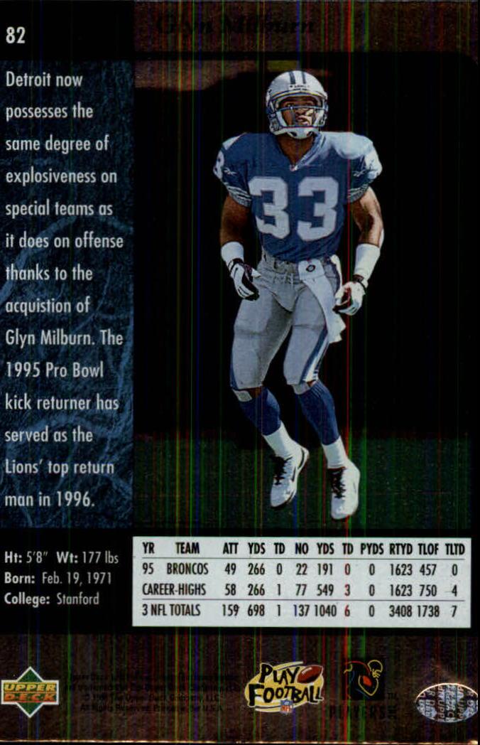 1996-SP-Football-Singles-1-188-Your-Choice-GOTBASEBALLCARDS thumbnail 149