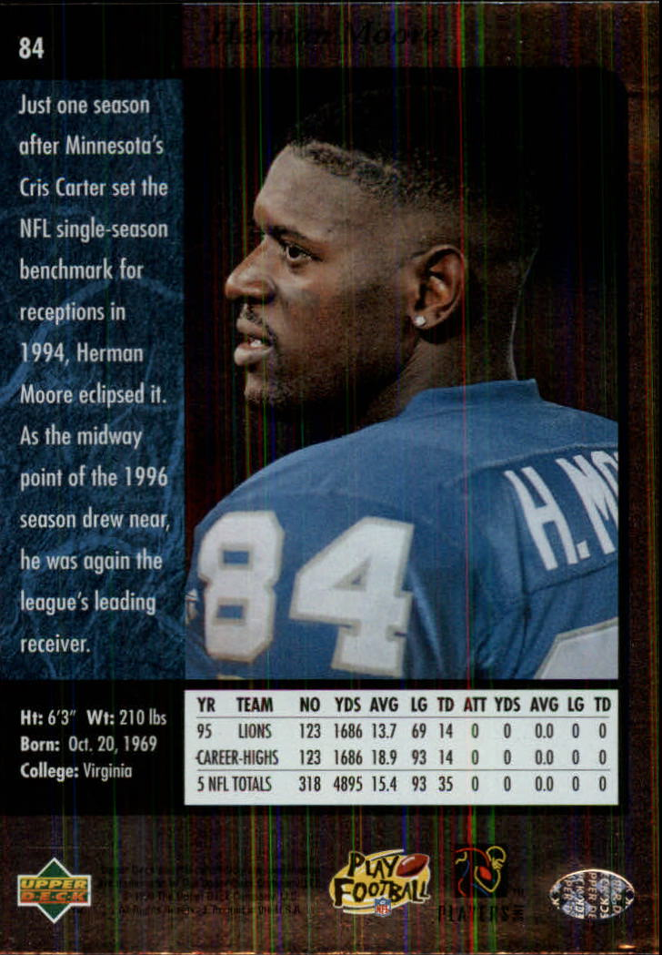 1996-SP-Football-Singles-1-188-Your-Choice-GOTBASEBALLCARDS thumbnail 153