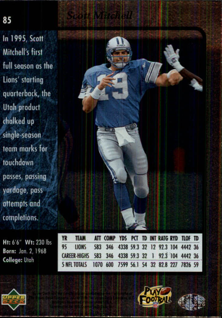 1996-SP-Football-Singles-1-188-Your-Choice-GOTBASEBALLCARDS thumbnail 155