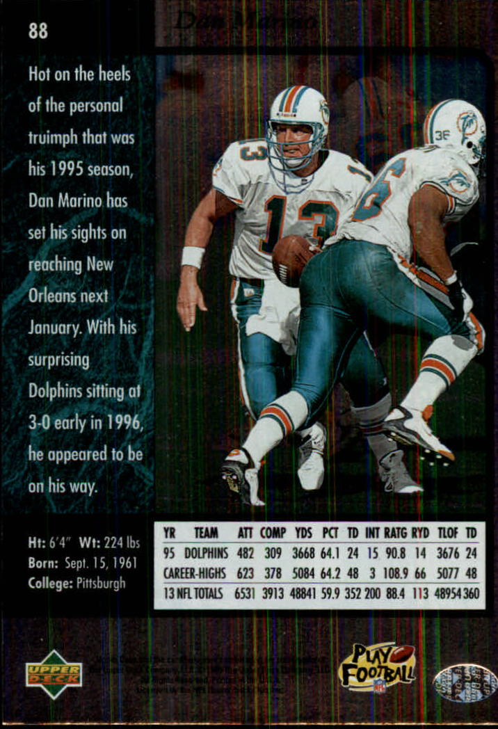 1996-SP-Football-Singles-1-188-Your-Choice-GOTBASEBALLCARDS thumbnail 161