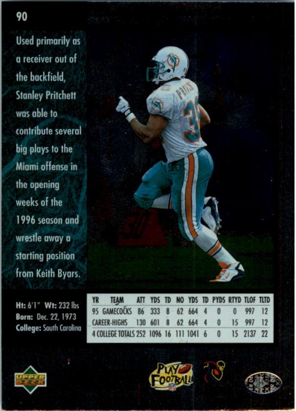 1996-SP-Football-Singles-1-188-Your-Choice-GOTBASEBALLCARDS thumbnail 165