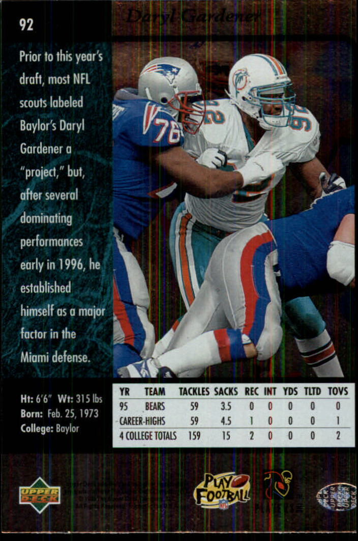 1996-SP-Football-Singles-1-188-Your-Choice-GOTBASEBALLCARDS thumbnail 167