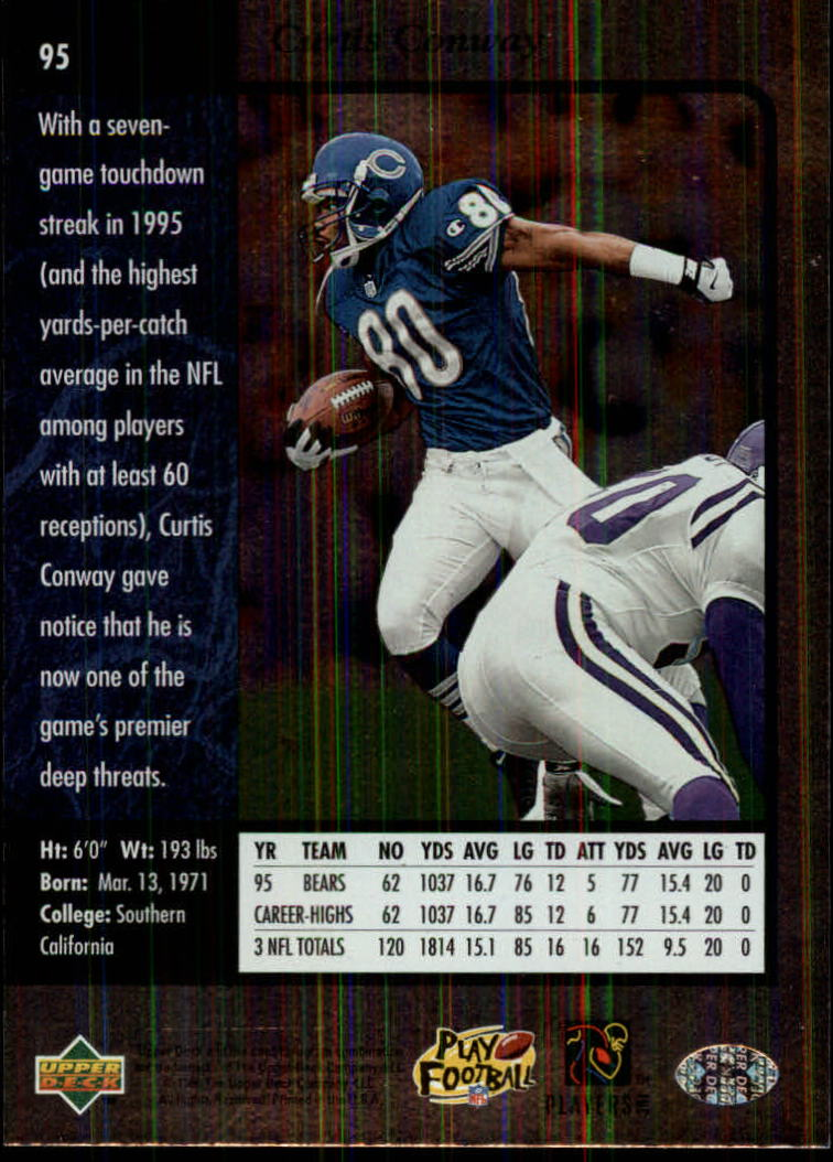 1996-SP-Football-Singles-1-188-Your-Choice-GOTBASEBALLCARDS thumbnail 173