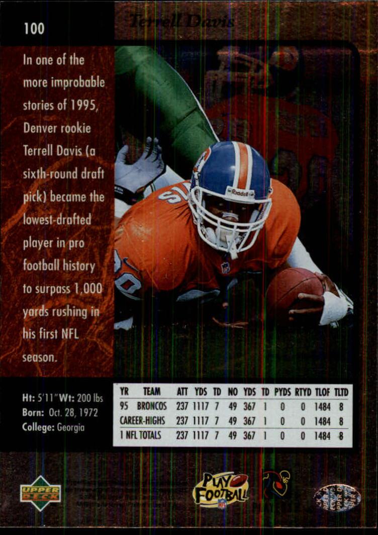 1996-SP-Football-Singles-1-188-Your-Choice-GOTBASEBALLCARDS thumbnail 183