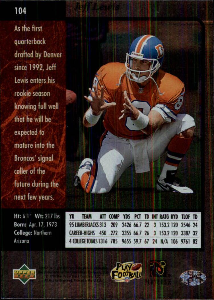 1996-SP-Football-Singles-1-188-Your-Choice-GOTBASEBALLCARDS thumbnail 189