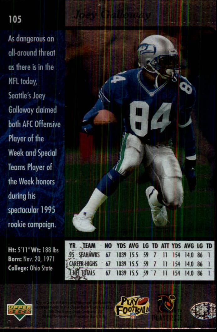 1996-SP-Football-Singles-1-188-Your-Choice-GOTBASEBALLCARDS thumbnail 191
