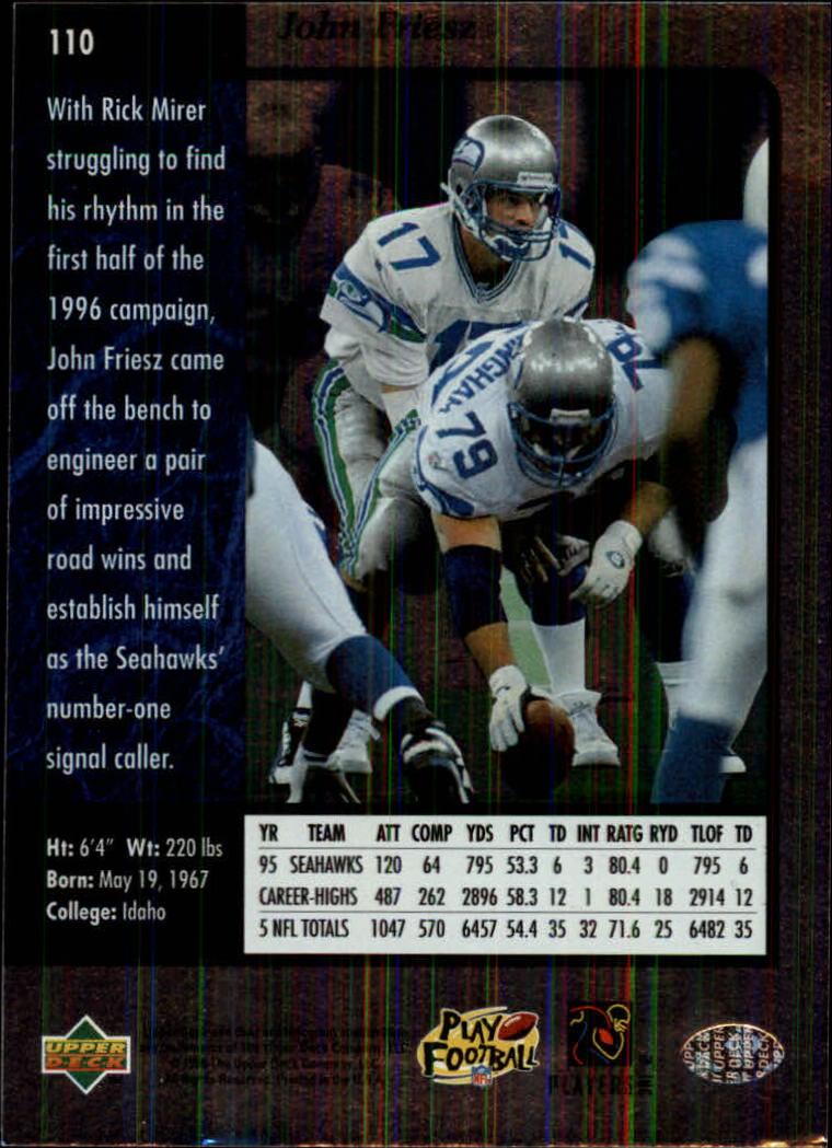 1996-SP-Football-Singles-1-188-Your-Choice-GOTBASEBALLCARDS thumbnail 199
