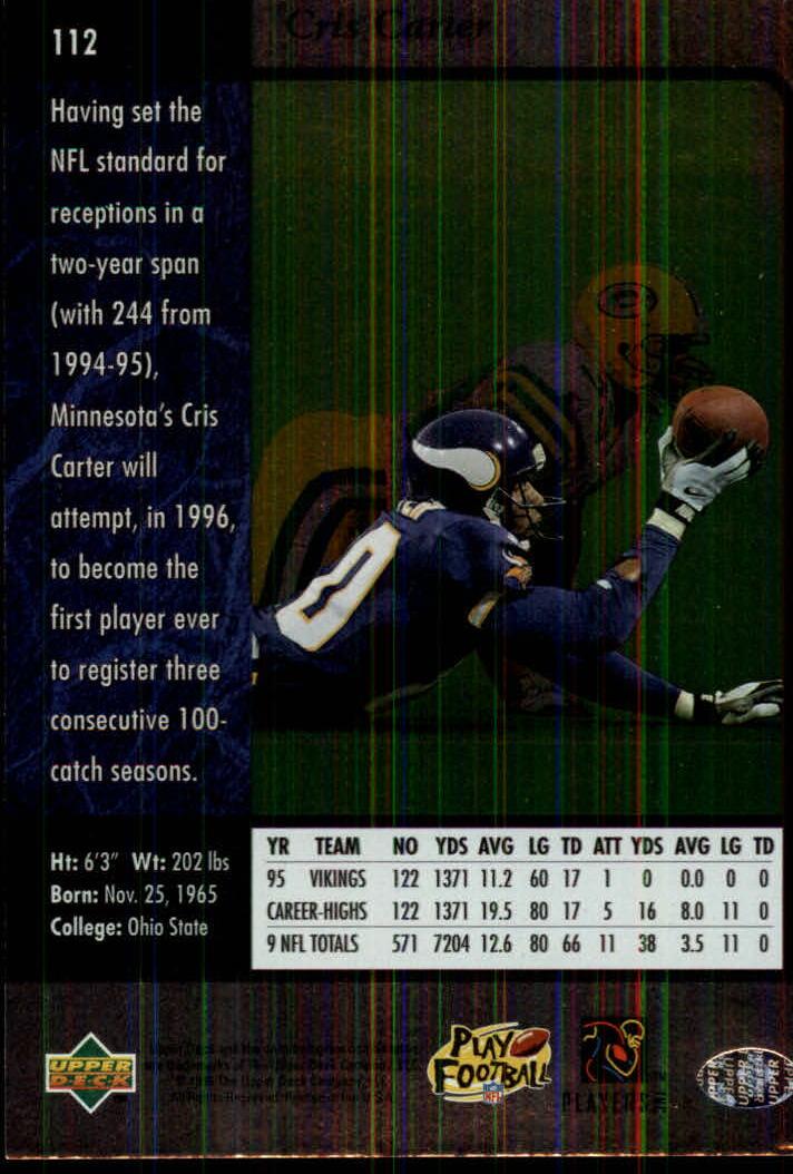 1996-SP-Football-Singles-1-188-Your-Choice-GOTBASEBALLCARDS thumbnail 203