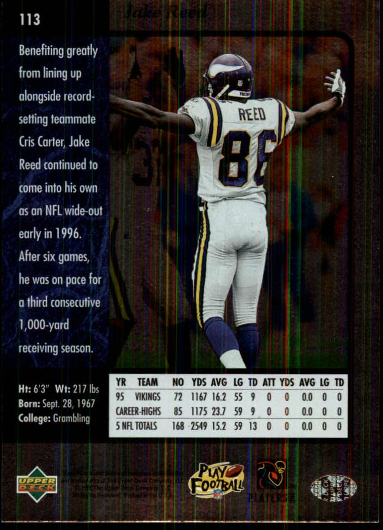 1996-SP-Football-Singles-1-188-Your-Choice-GOTBASEBALLCARDS thumbnail 205