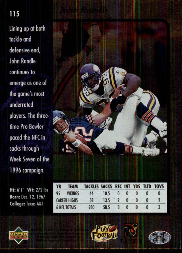 1996-SP-Football-Singles-1-188-Your-Choice-GOTBASEBALLCARDS thumbnail 209