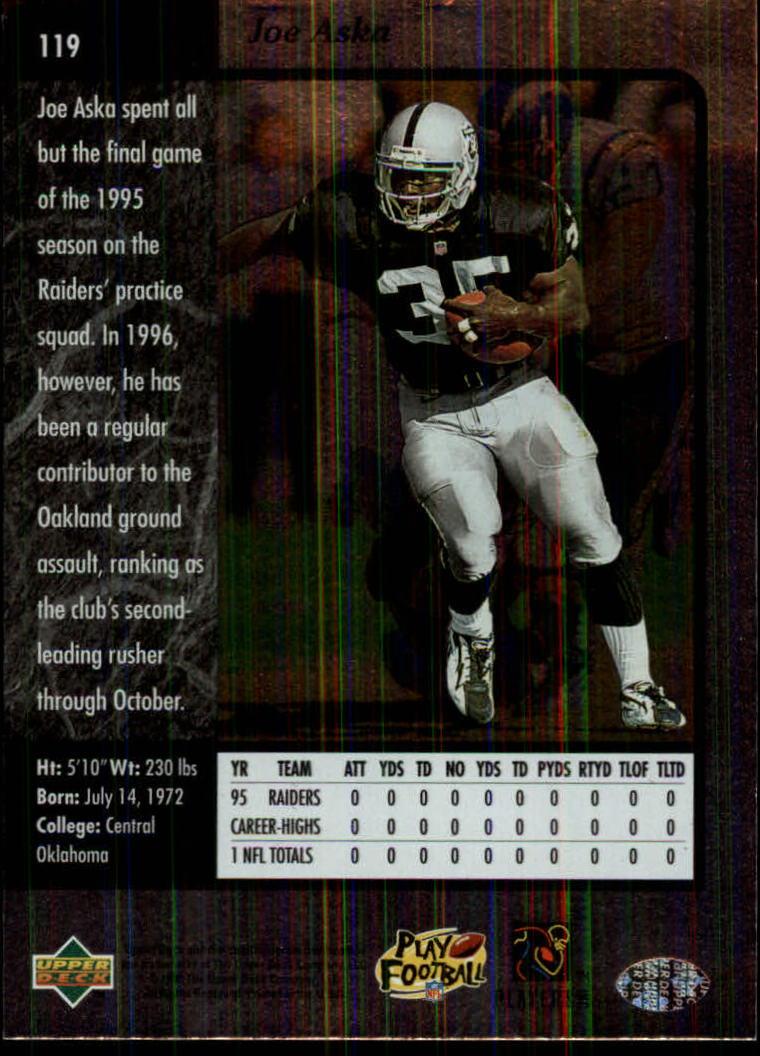 1996-SP-Football-Singles-1-188-Your-Choice-GOTBASEBALLCARDS thumbnail 215