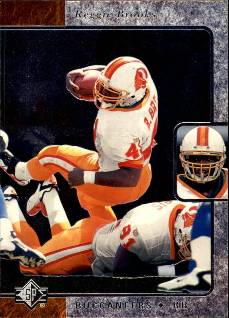1996 SP #124 Reggie Brooks